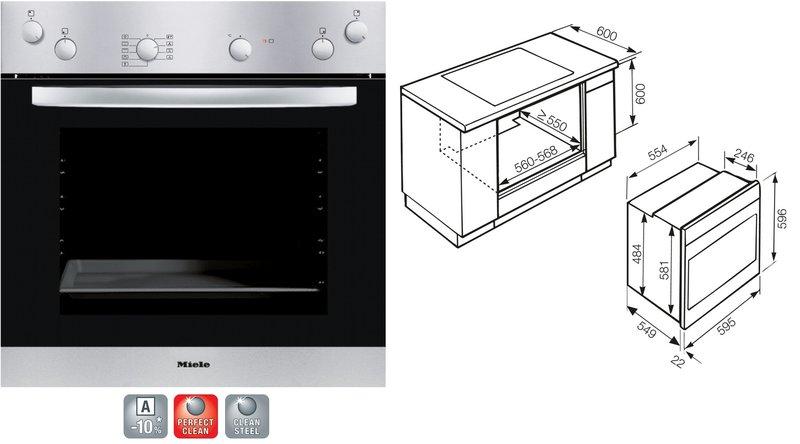 miele h 4302 e edelstahl. Black Bedroom Furniture Sets. Home Design Ideas